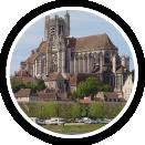 Photographie de la cathédrale de Auxerre